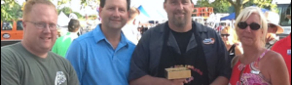 Top prize in the 2013 BBQ competition was awarded to Airmasters Corporation