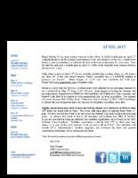 newsletter-April 2017