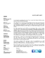 newsletter-January 2017