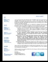 newsletter-July 2017