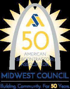 ASA Midwest Council 50th Anniversary Logo 2016