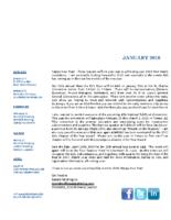 newsletter-January 2018