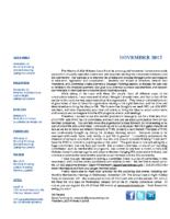 newsletter-November 2017