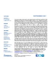 newsletter-September 2017
