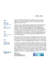 newsletter-April 2018