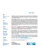 newsletter-May 2018